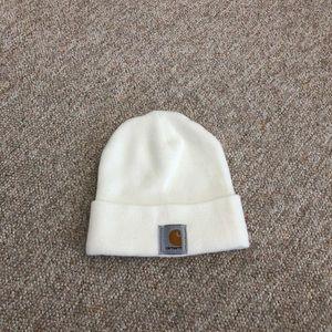 White Carhartt hat
